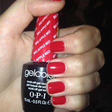Gel Color OPI big apple red